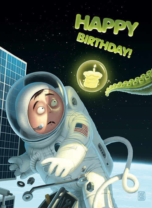 С днем рождения компания открытка